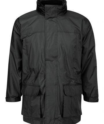Black 3 in 1 Coat